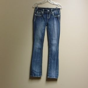 Miss Me Jeans Slim Boot Cut Style Size 25